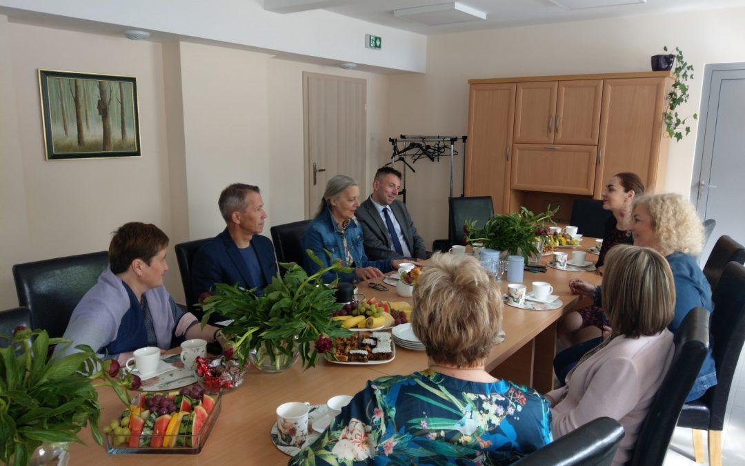 Wizyta studyjna z Łotwy